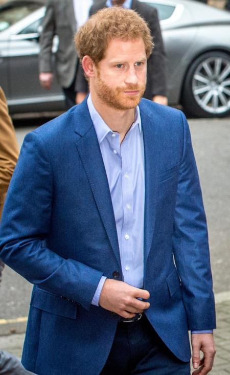 Książę Harry w siedzibie organizacji The Mix