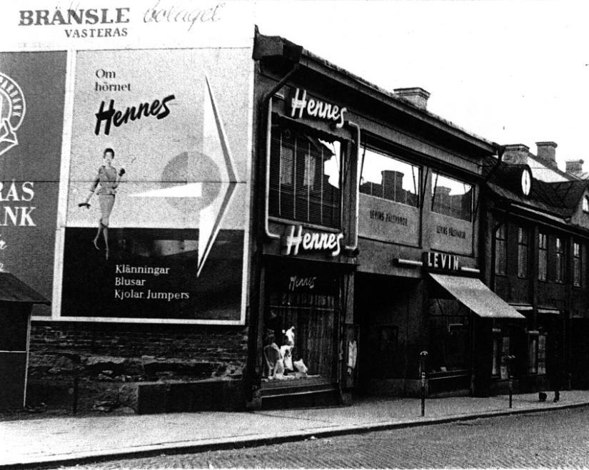 Pierwszy sklep Hennes