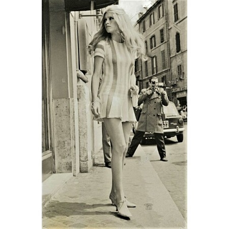 Brigitte Bardot zakochała się w mini