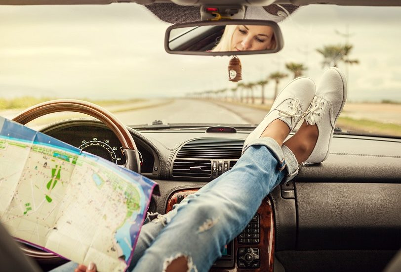buty na podróż