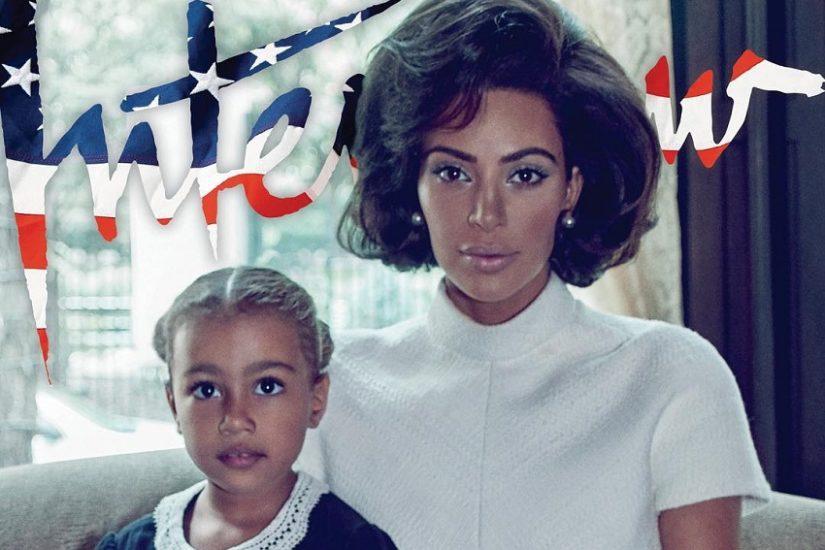 Kim Kardashian dla magazynu Interview