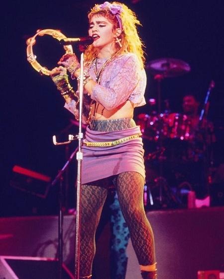 Ich wielką fanką była Madonna
