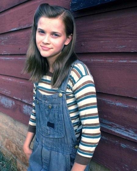 Jak i młodziutka Reese Witherspoon