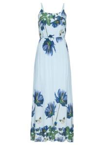 maxi dress w kwiatowy wzór