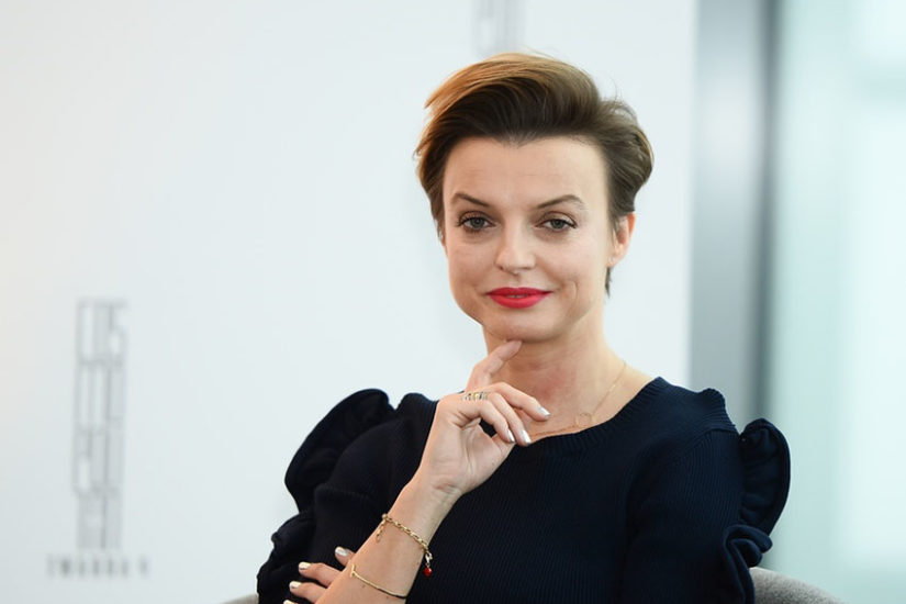 Katarzyna Sokołowska lubi minimalistyczną biżuterię