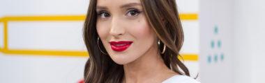 Marina Łuczenko-Szczęsna tej jesieni stawia na czerwone usta