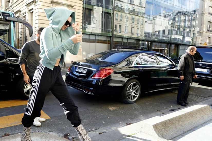Kendall Jenner często chodzi w dresie