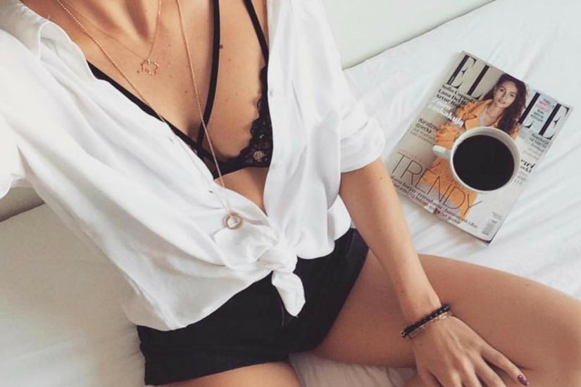 modne i tanie koronkowe biustonosze