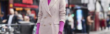 polskie szafiarki na London Fashion Week