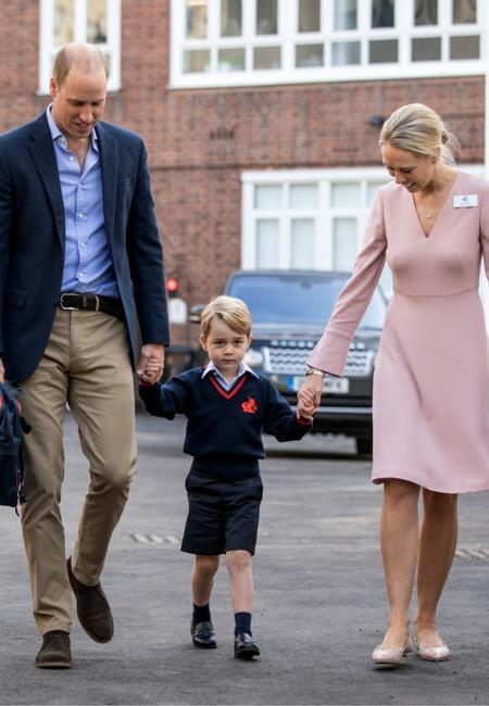 Pierwszy dzień szkoły księcia Georga, 2017