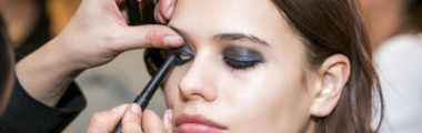 modny makijaż oczu