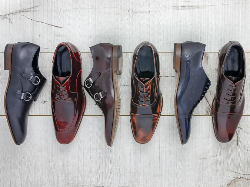 Różne rodzaje butów do garnituru