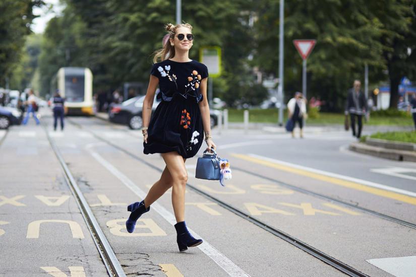 Chiara Ferragni lubi bawić się modą