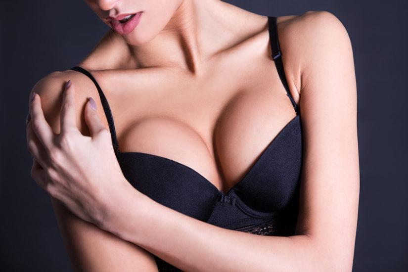 Jak optycznie powiększyć mały biust? Zainwestuj w stanik z push upem