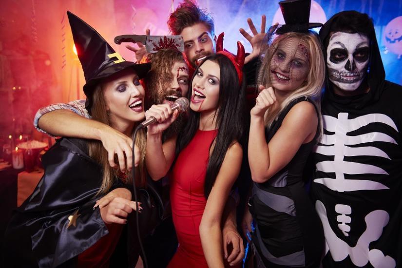 Kostiumy na imprezę Halloween