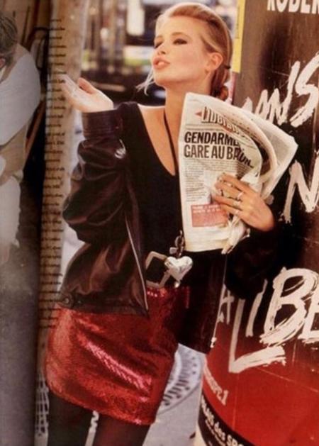 Claudia Schiffer 1989