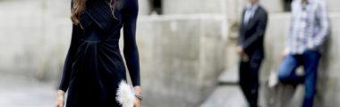czarna damska sukienka