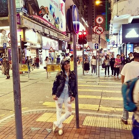 Kasia Cichopek w Hongkongu