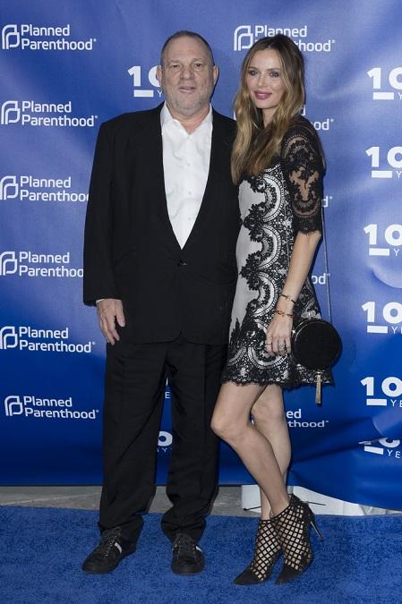 Georgina Chapman i Harvey Weinstein