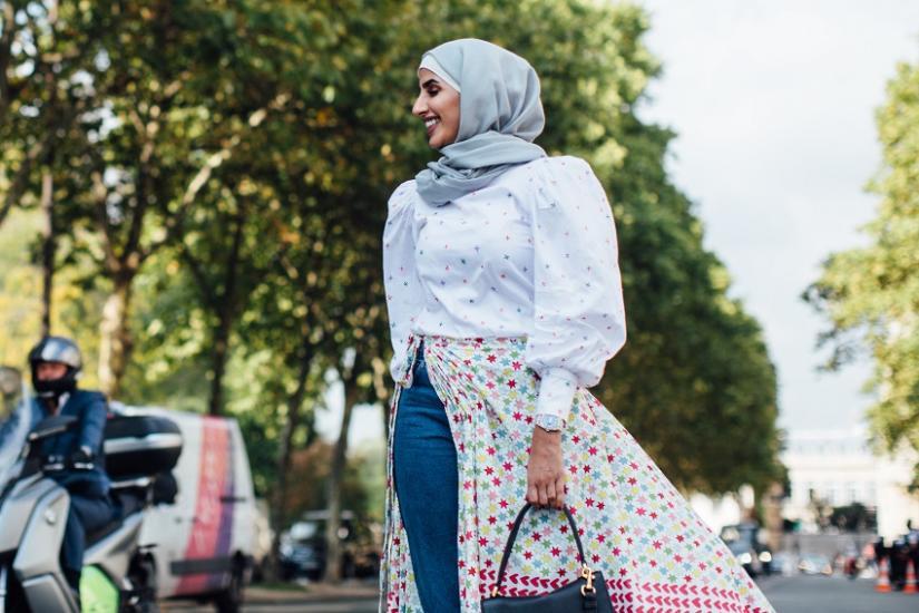 hijab jak nosić