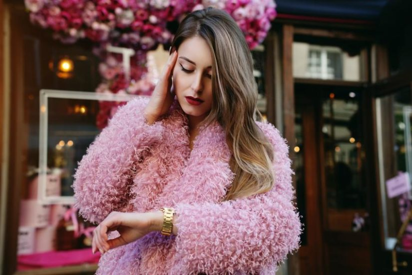 Różowe futerko hit Instagrama