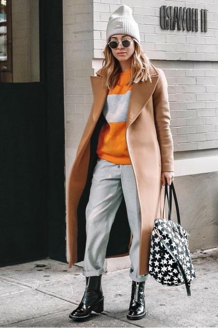 Co powiecie na kolorowy sweter w paski?