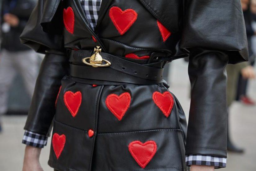 ubrania w serca