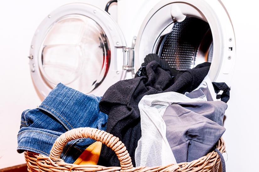Zaniedbana pralka