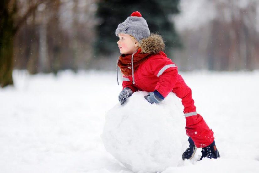 kombinezon na zimę dla dzieci