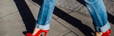 modne jeansy 2018
