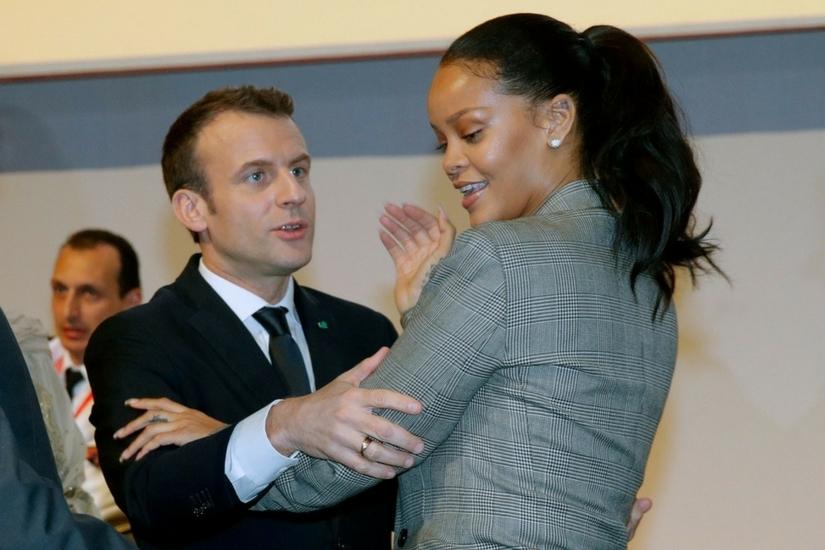Rihanna zawstydzona to rzadki widok