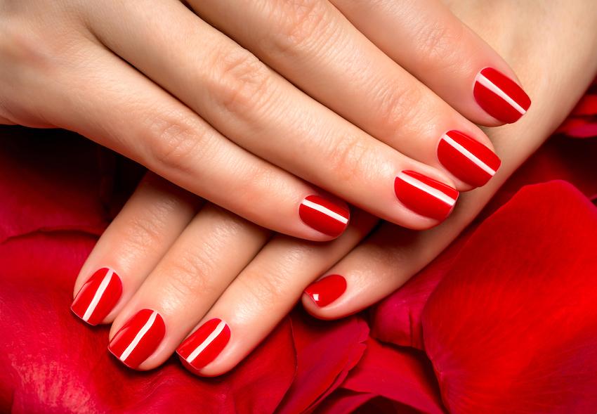 Czerwone Paznokcie Do Czerwonej Sukienki Allani Trendy