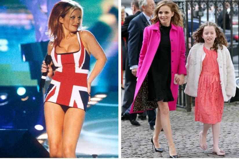 Geri Halliwell za czasów Spice Girls wielka imprezowiczka teraz stateczna żona szefa Formuły 1