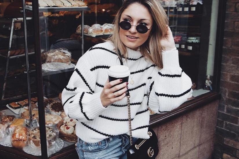 najmodniejszy sweter w paski