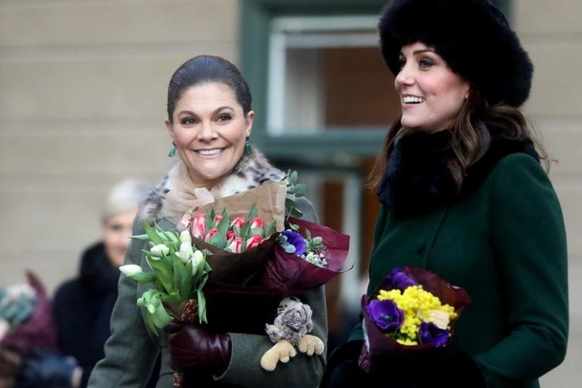księżniczka Victoria i księżna Kate