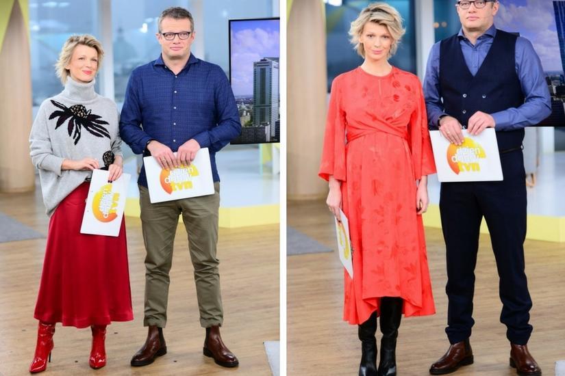 Magda Mołek wybiera stylizacje, które nie są przeznaczone wyłącznie dla kobiet w ciąży