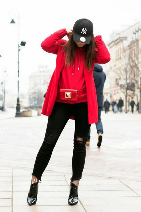 Czerwień - najmocniejszy odcień, który ożywi niejedna stylizację