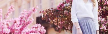 pastelowe ubrania na Wielkanoc