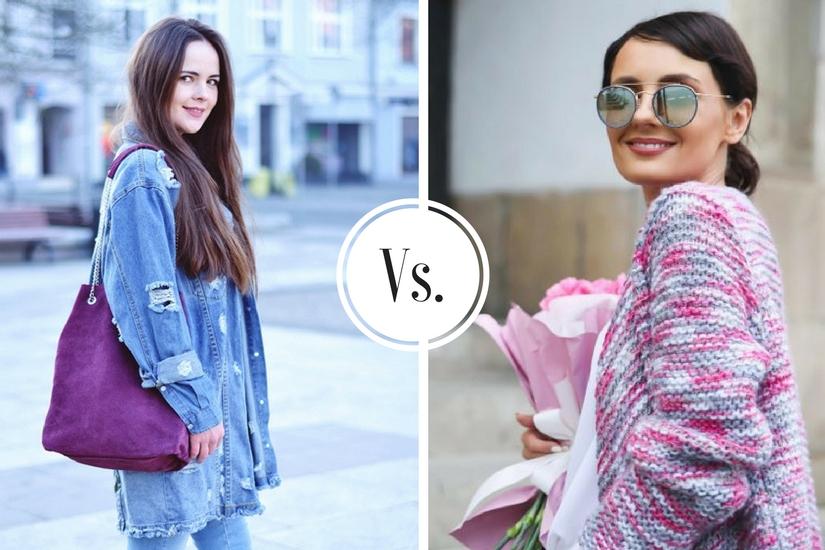 stylizacje blogerek marzec 2018