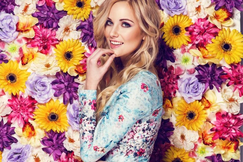 modne sukienki w kwiaty
