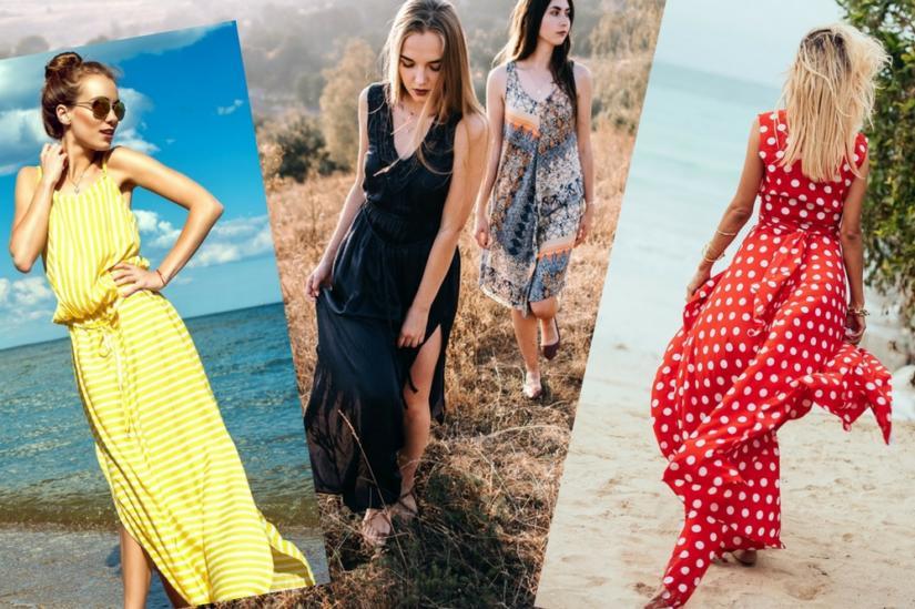 Maxi dress to świetna opcja na upalne dni