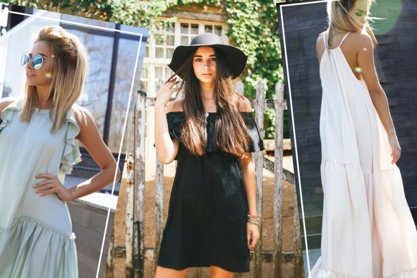ff9bd1f139 Modne sukienki na lato 2018 - zobacz