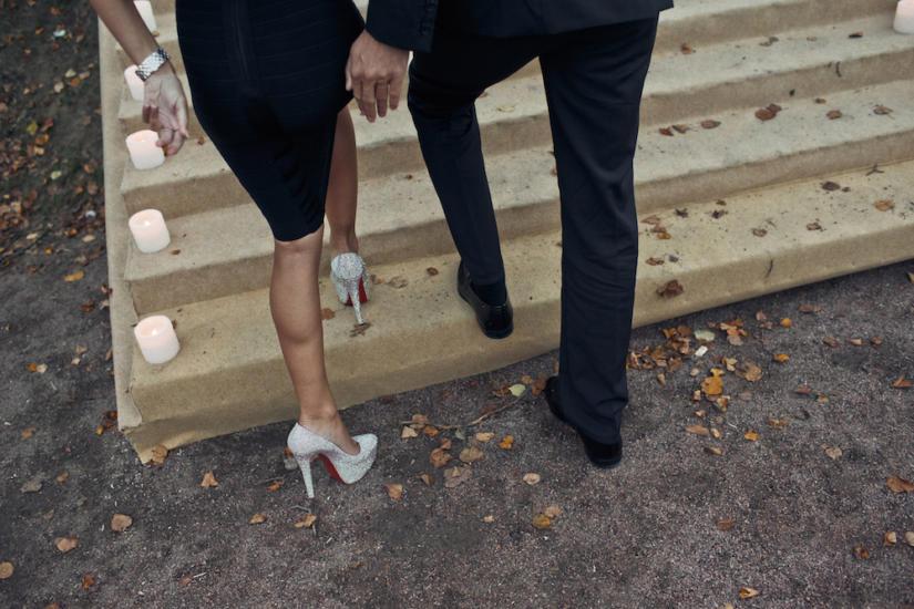 Nie wszystkie kobiety chętnie założą tak wysokie szpilki