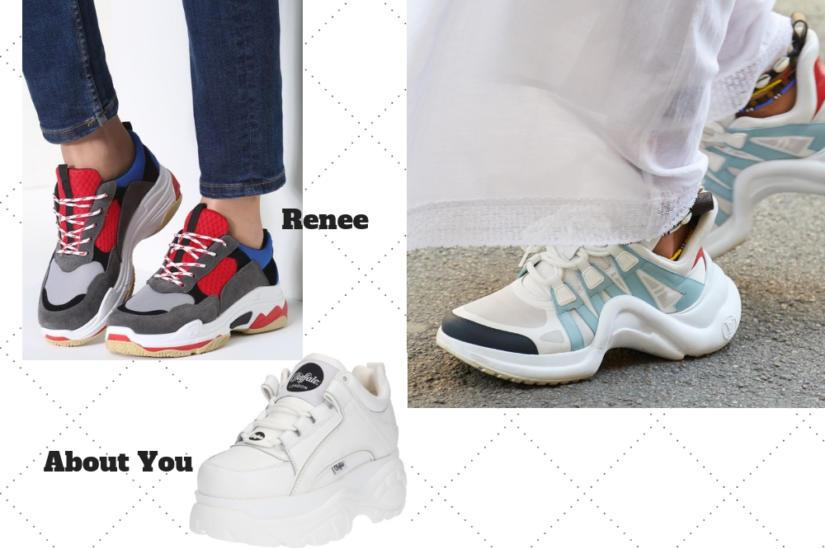 Przegląd damskich sneakersów na jesień 2017 | Fajne Buty