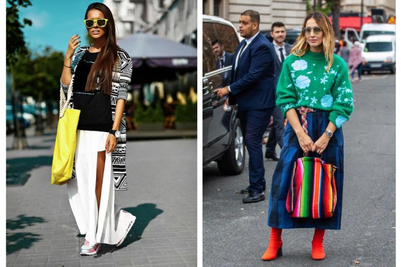 Kolorowe torby-worki - modne i praktyczne