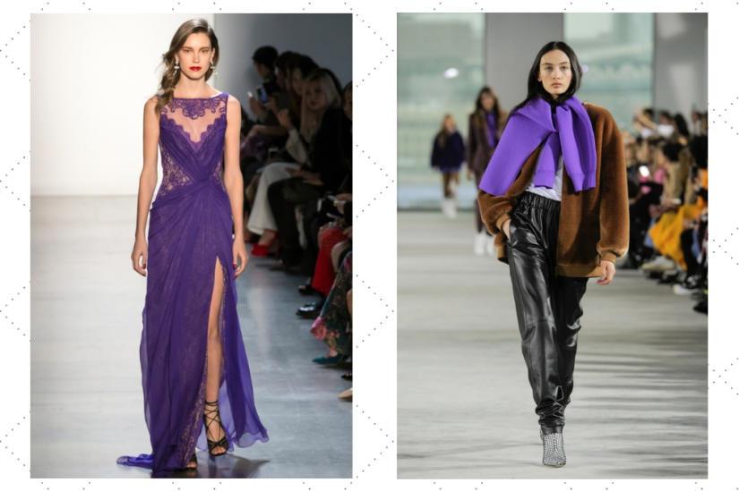 Ultra violet - kolor roku, w wersji jesiennej