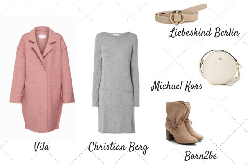 Różowy płaszcz oversize z pewnością doda Ci kobiecości!