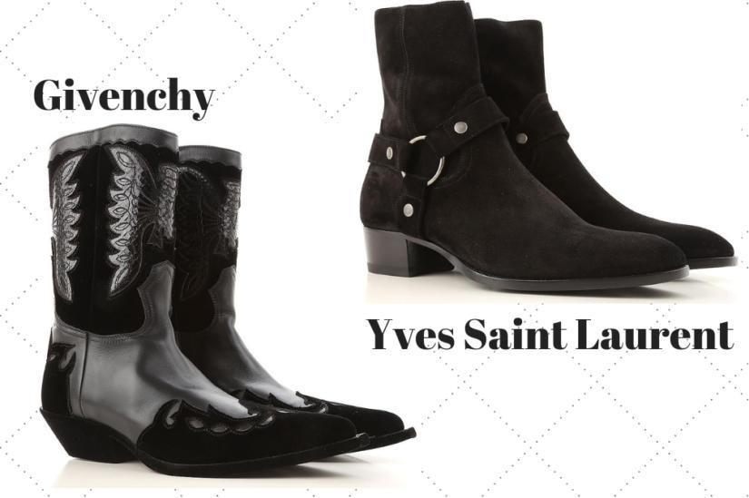 Modne buty męskie zimowe to także kowbojki, które w tym sezonie wracają na wybiegi i ulice