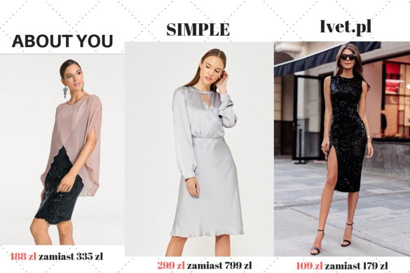 Sukienka z cekinami to dobry pomysł, by dodać swojej stylizacji blasku