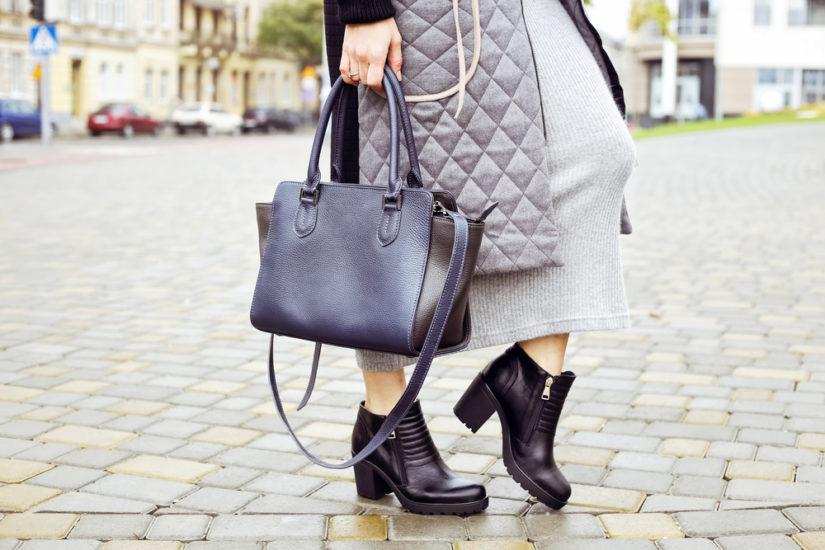 Dłuższa kurtka pikowana idealnie pasuje do spódnic i sukienek